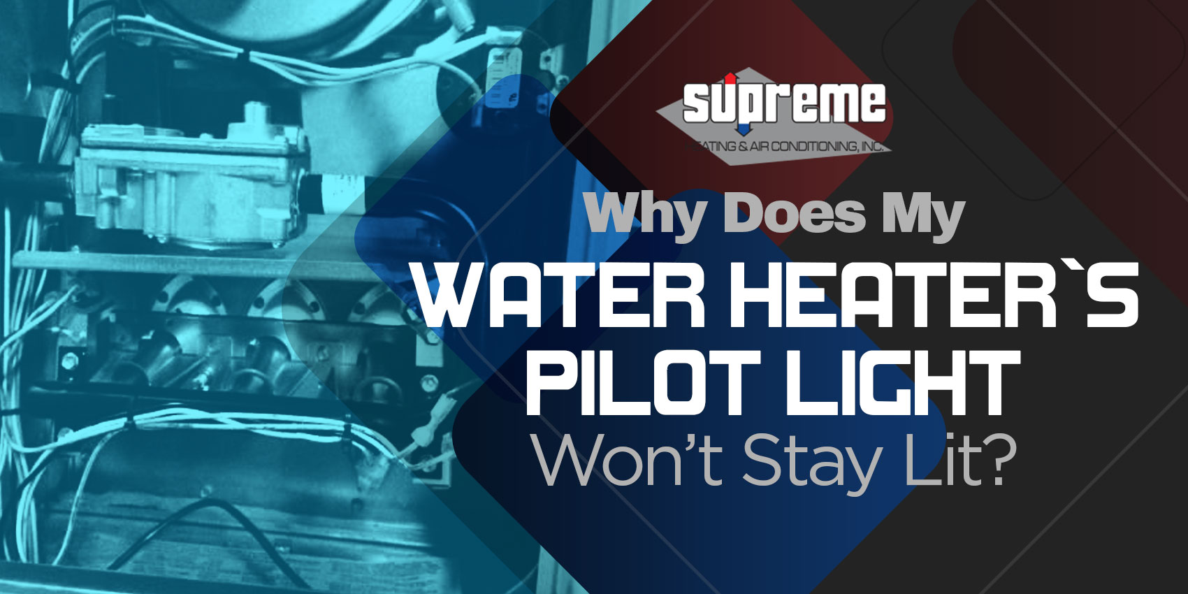 Why Does My Water Heater's Pilot Light Won't Stay Lit?