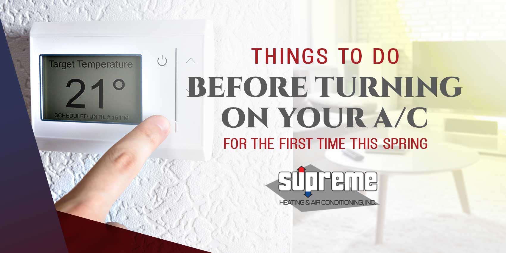 Things to Do Before Turning On Your A/C For the First Time This Spring