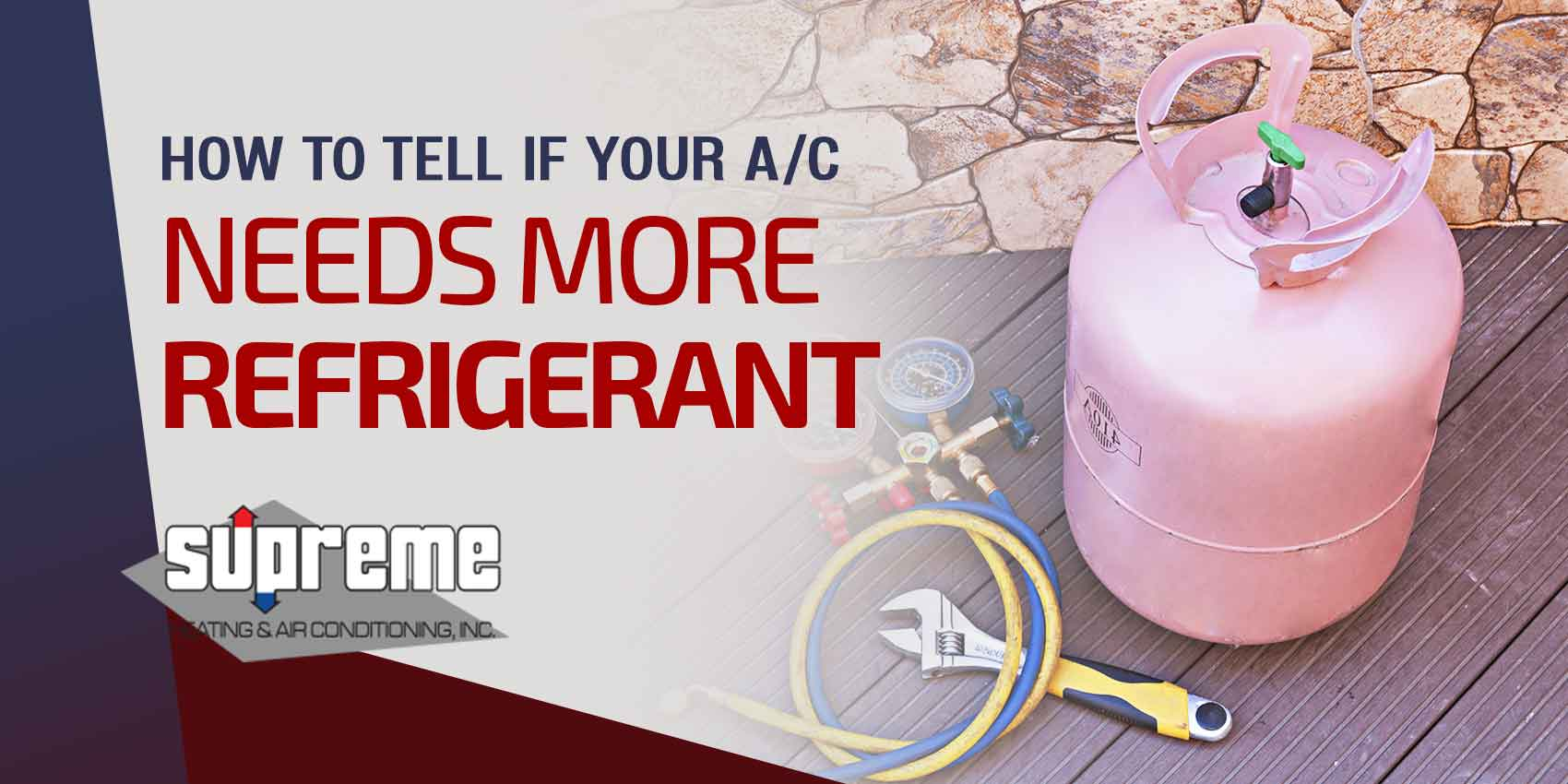 How To Tell If Your A/C Needs More Refrigerant