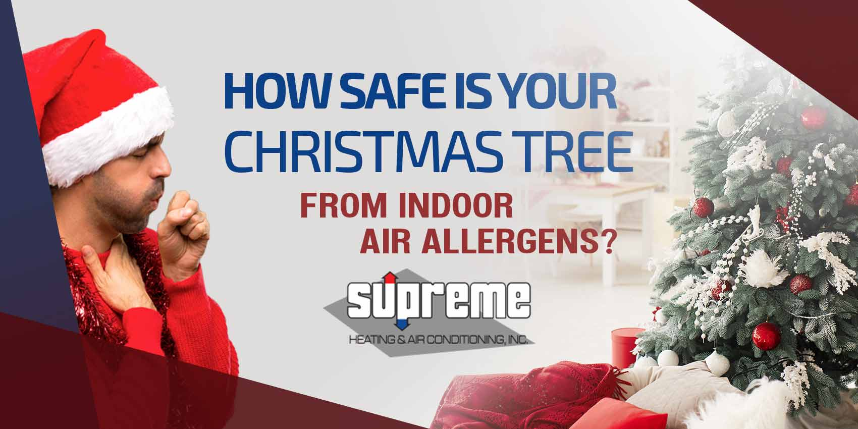 How Safe is Your Christmas Tree From Indoor Air Allergens?